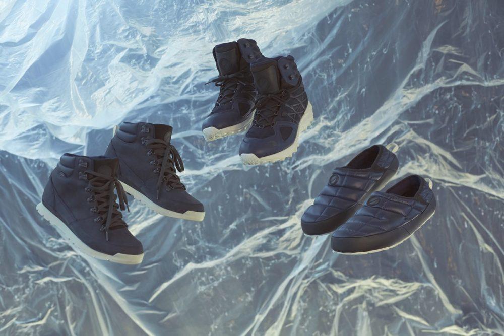 """Publish e The North Face lançam três calçados em """"Midnight in Antartica"""""""