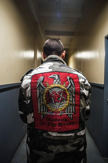 Supreme faz parceria com banda de trash metal Slayer
