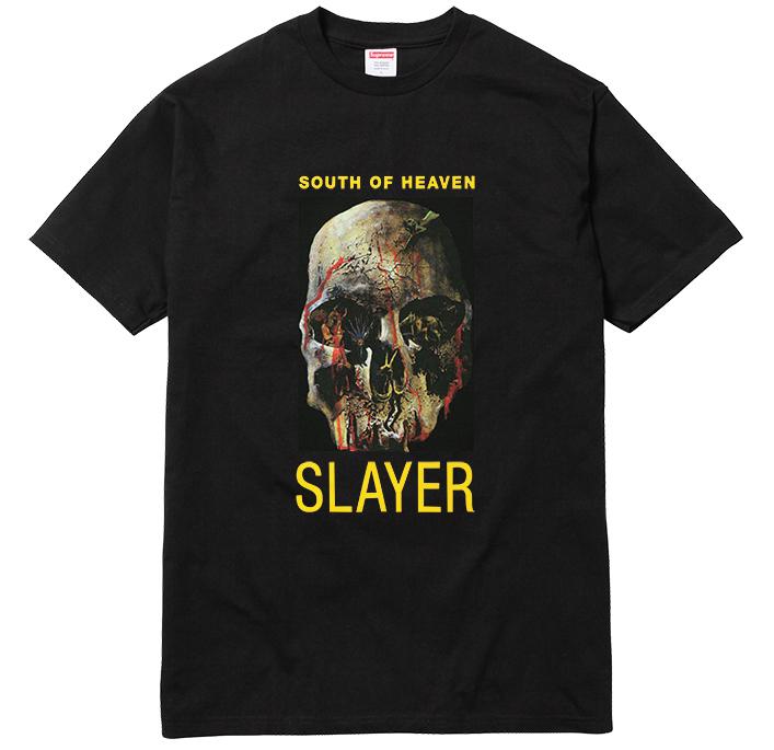 supreme x slayer 2016 23 - Supreme faz parceria com banda de trash metal Slayer