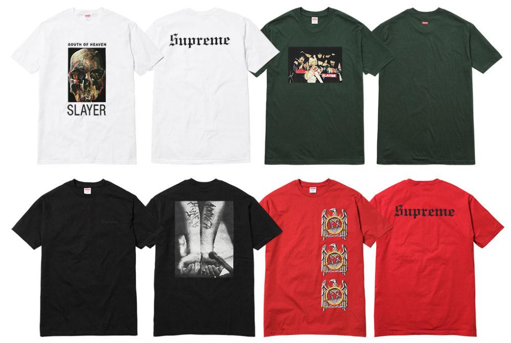 supreme x slayer 2016 26 - Supreme faz parceria com banda de trash metal Slayer