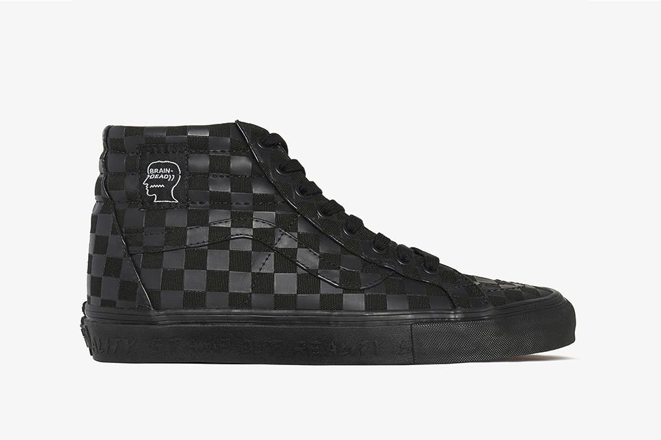 brain dead vans sk8 hi 01 - Os melhores de 2017 - Footwear