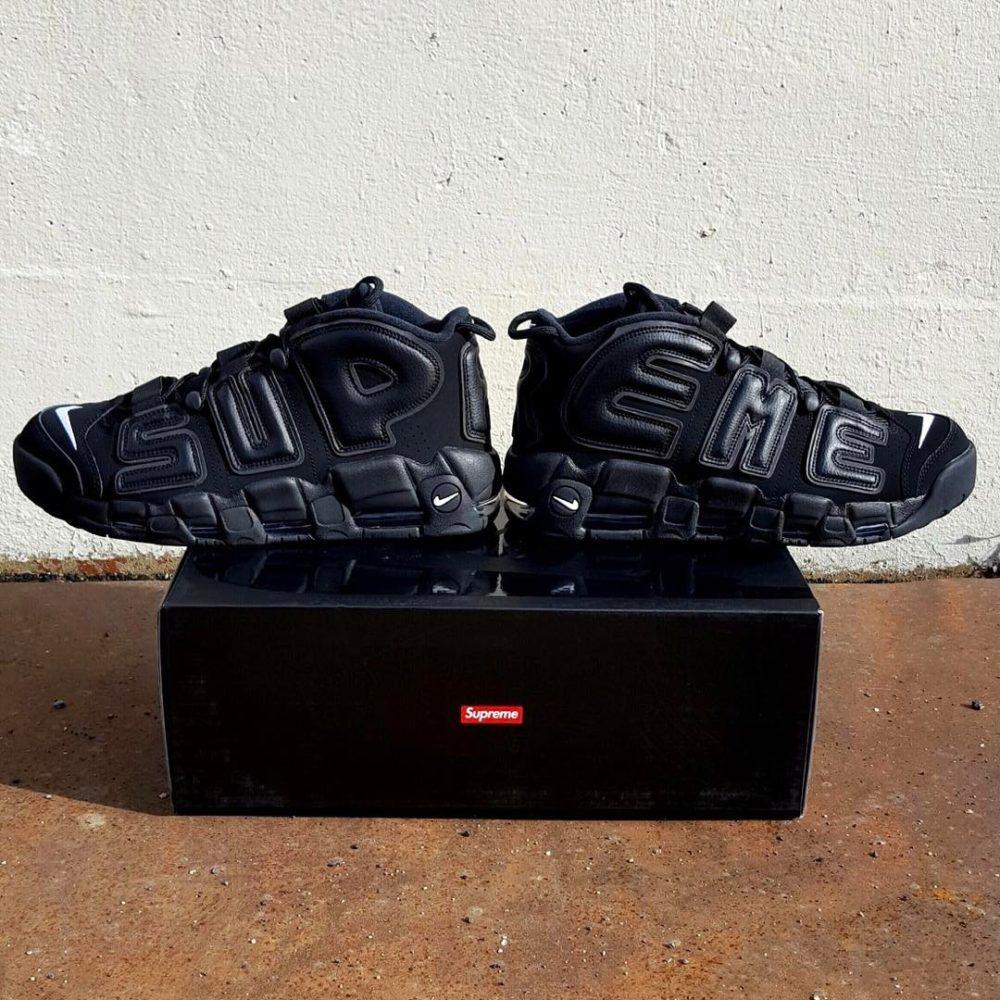 Vazou! Supreme e Nike colaboram em versão do Air More Uptempo