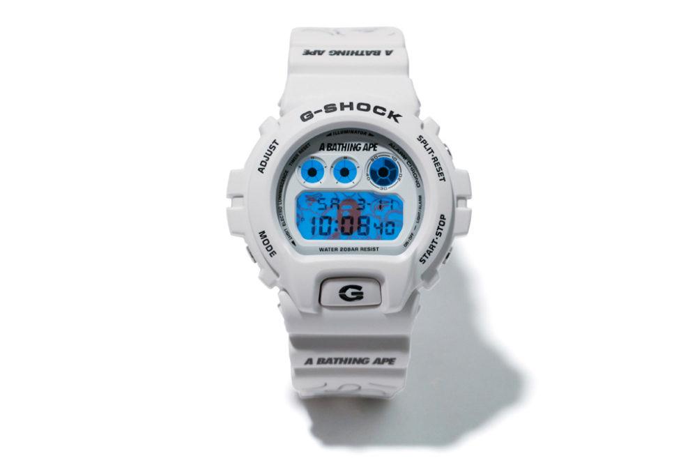 BAPE e G-Shock colaboram em nova versão do DW-6900