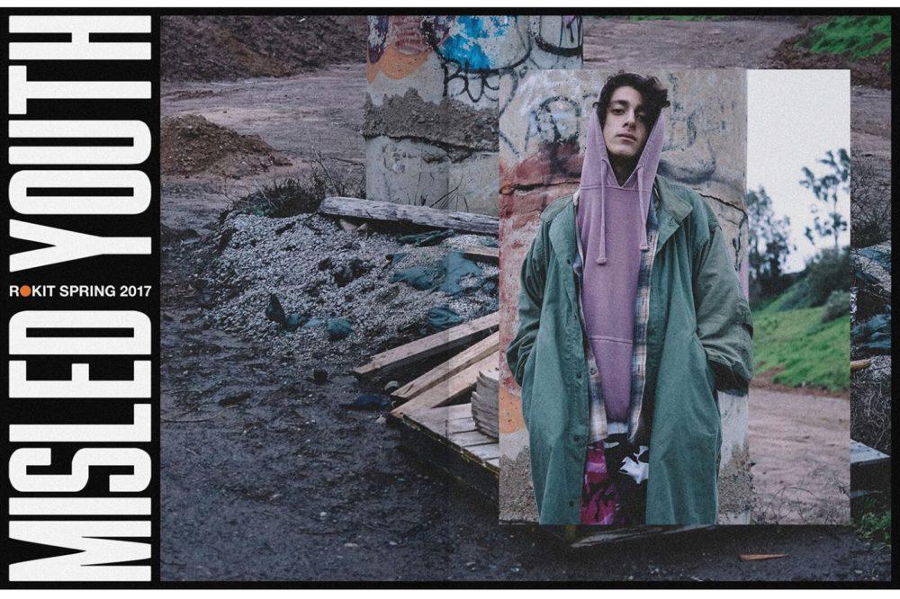 "ROKIT ""Misled Youth"" Primavera/Verão 2017"
