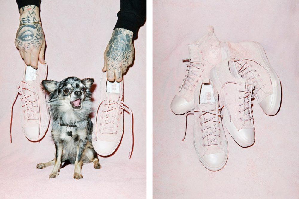 SNEEZE e PRO-Keds colaboram em sneakers na cor pink