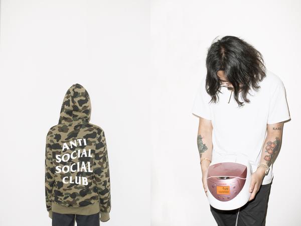 bape anti social social club collab 05 - BAPE e Anti Social Social Club colaboram pela primeira vez