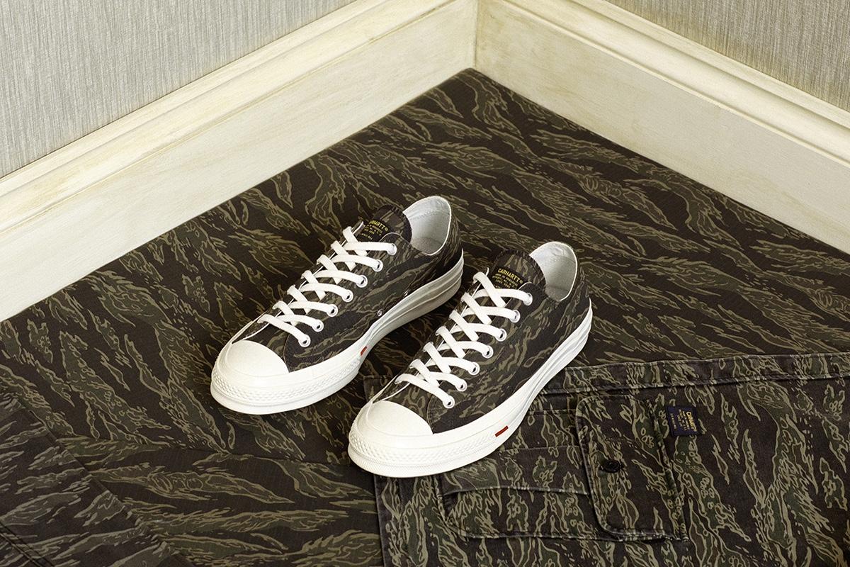 carhartt wip converse chuck taylor 70 03 - Carhartt WIP e Converse trazem Chuck Taylors inspirados no workwear