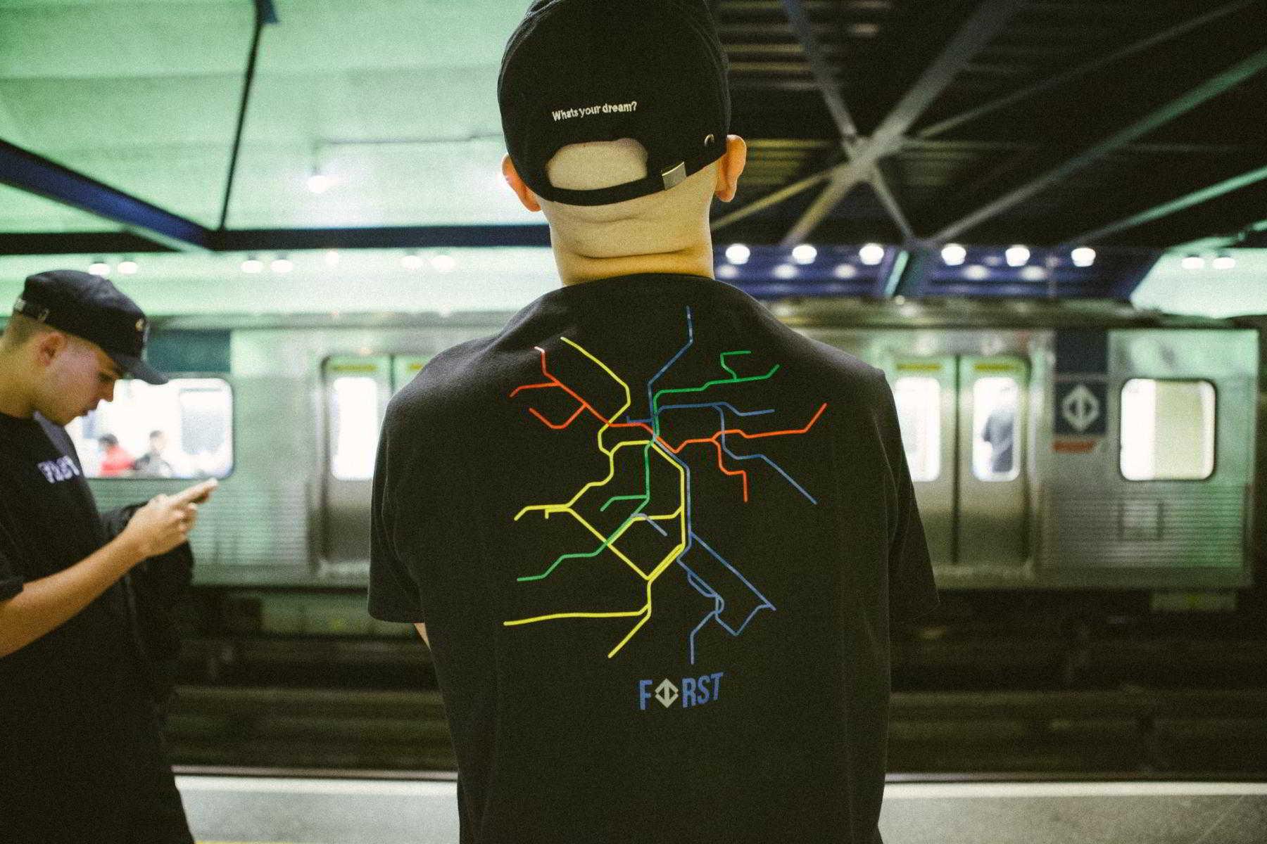 first 1 metro sp 15 - First #1 lança coleção inspirada no metrô de São Paulo