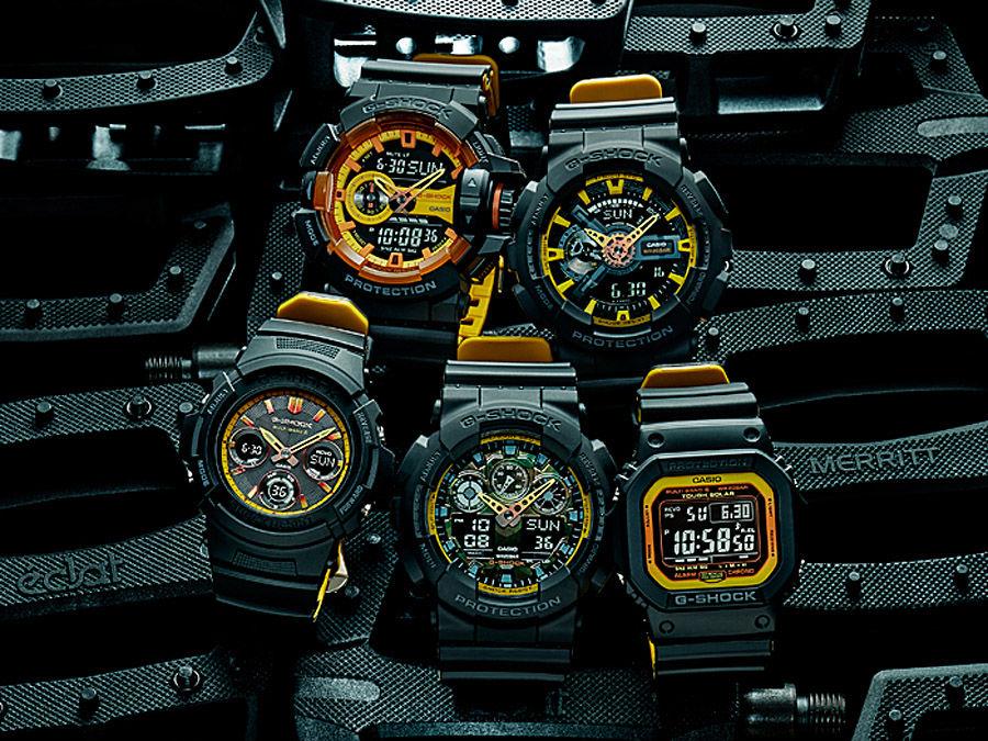 "G-Shock ""Black & Yellow"""