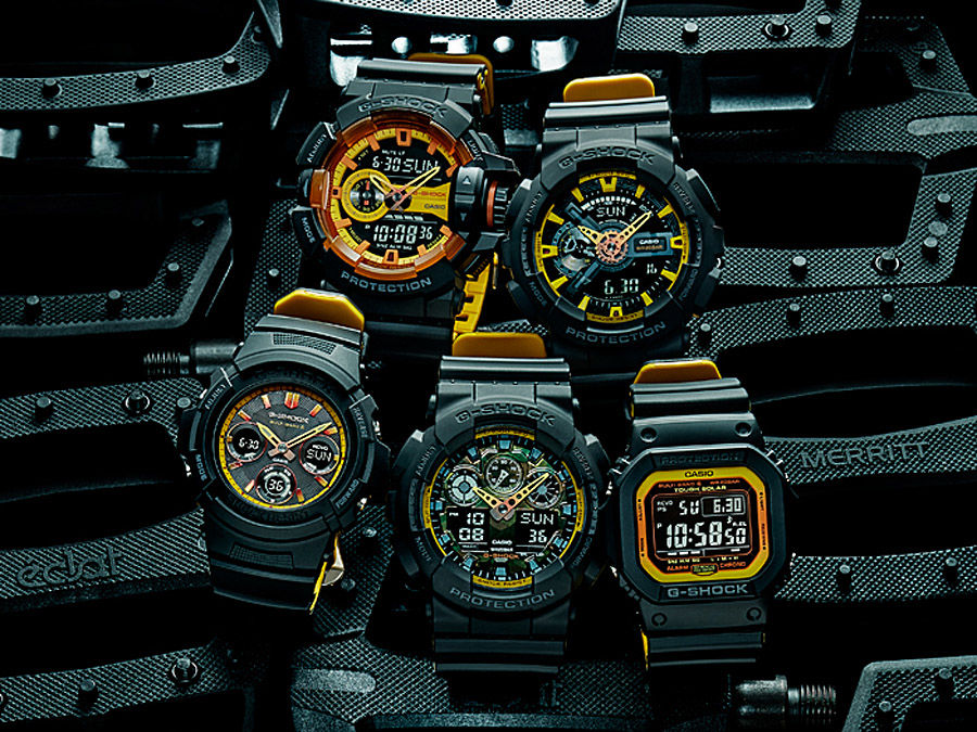 "G-Shock ""Black & Yellow"""