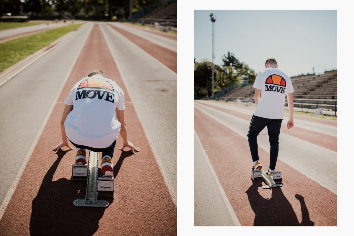Move x Ellesse 'Move Foward'