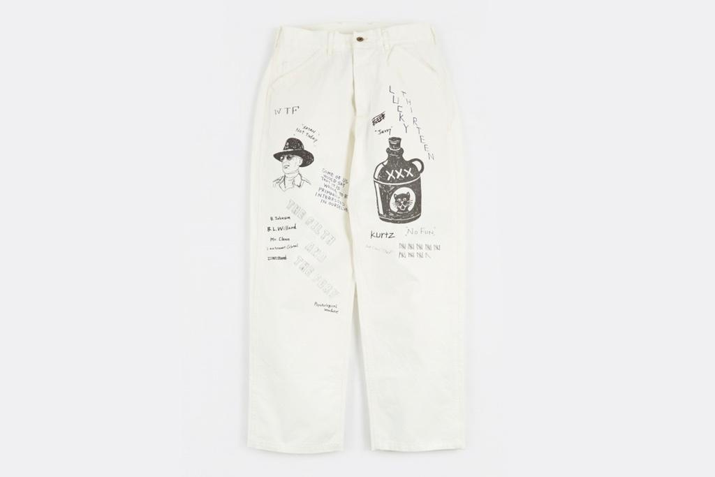 neighborhood memorial pant 03 - NEIGHBORHOOD lança calça desenhada