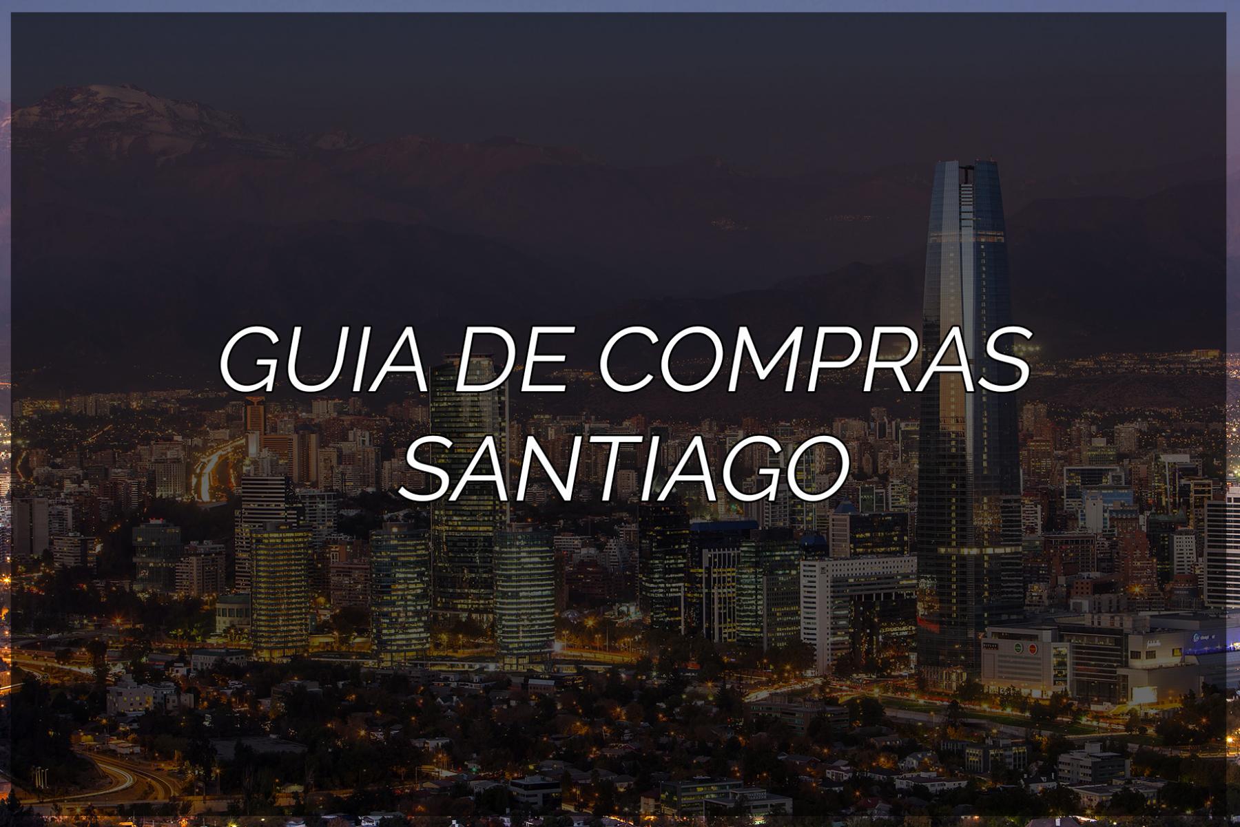 Guia de compras: Santiago