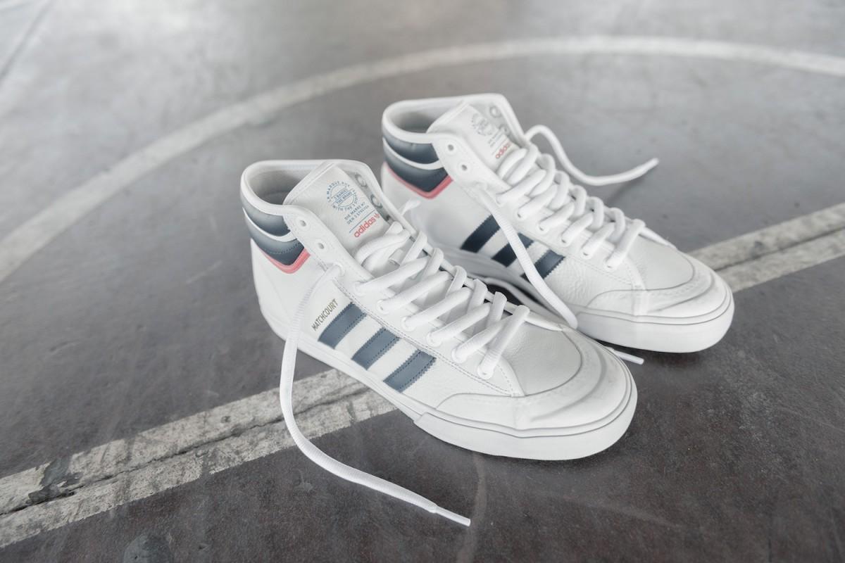 adidas skateboarding matchcourt RX2 02 - adidas Skateboarding revela versão melhorada do Matchcourt High