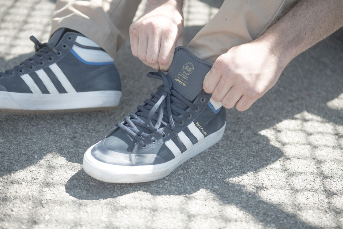 adidas skateboarding matchcourt RX2 05 - adidas Skateboarding revela versão melhorada do Matchcourt High