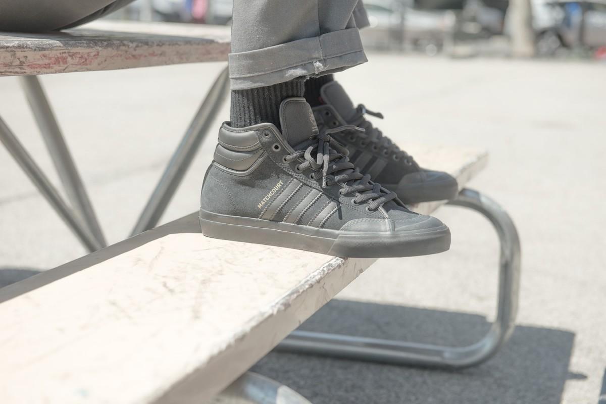 adidas skateboarding matchcourt RX2 07 - adidas Skateboarding revela versão melhorada do Matchcourt High