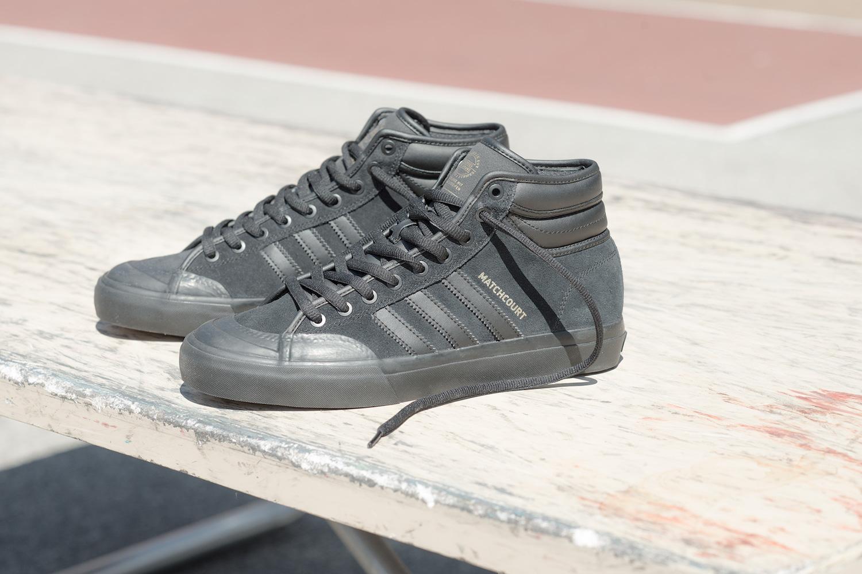 adidas skateboarding matchcourt RX2 08 - adidas Skateboarding revela versão melhorada do Matchcourt High