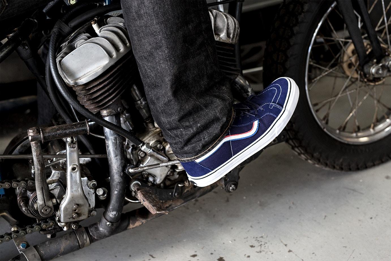 blends vans vault born free sk8 hi lx 7 - Blends e Vans Vault lançam Sk8-Hi para evento de motociclistas