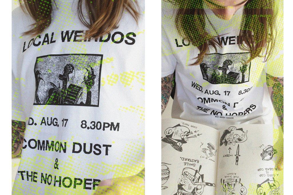 common dust 2017 07 - Punk, skate e o DIY fazem parte da mistura da Common Dust