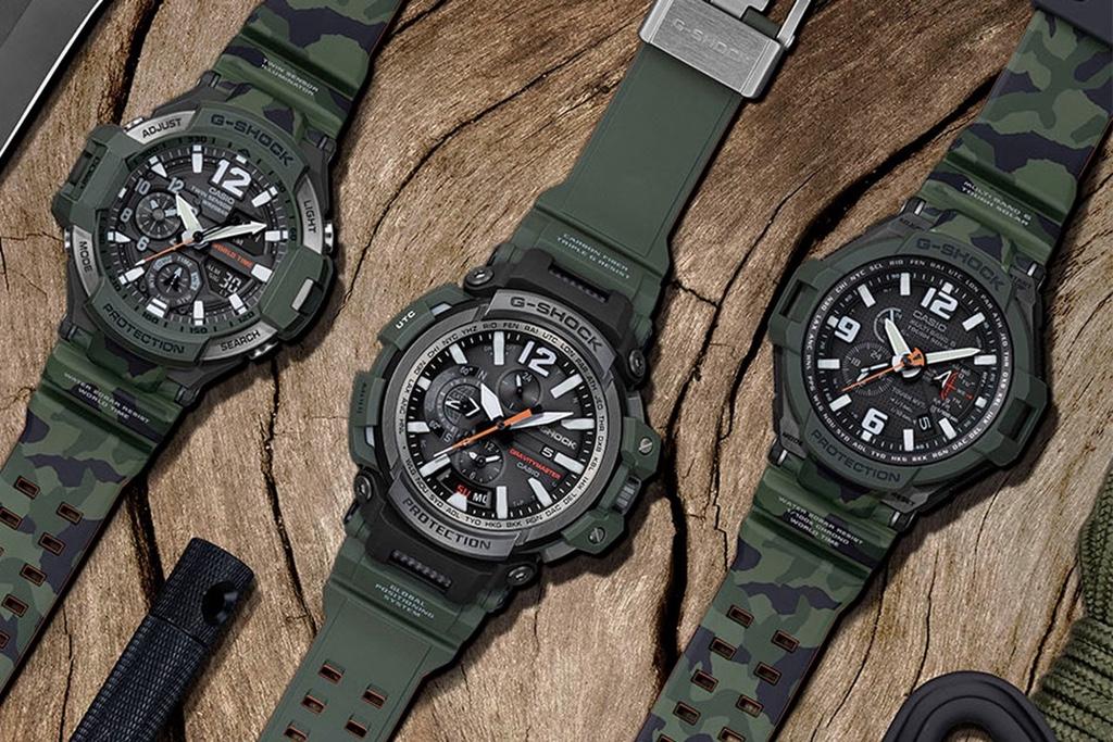 G-Shock lança série de relógios inspirados em jaqueta militar
