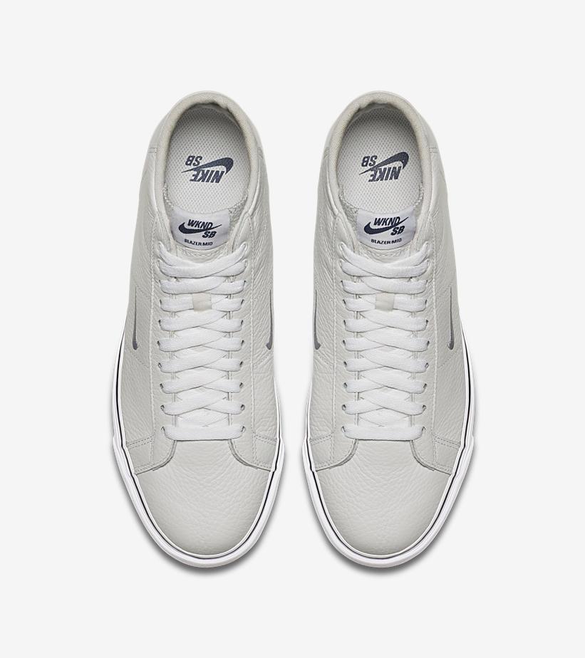 nike sb blazer mid wknd collab 04 - Nike SB apresenta Blazer Mid em parceria com marca de skate