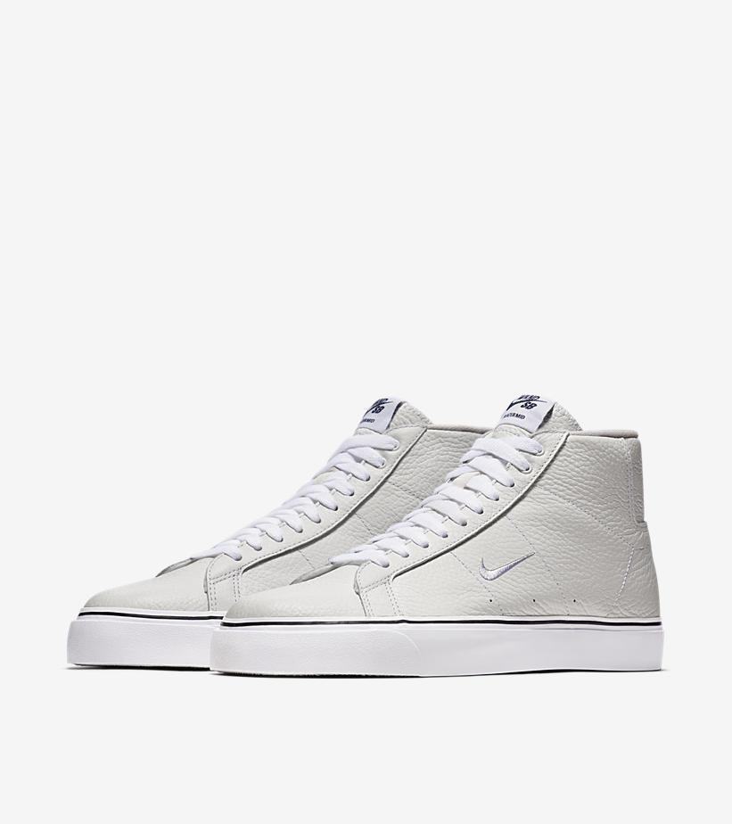 Nike SB apresenta Blazer Mid em parceria com marca de skate