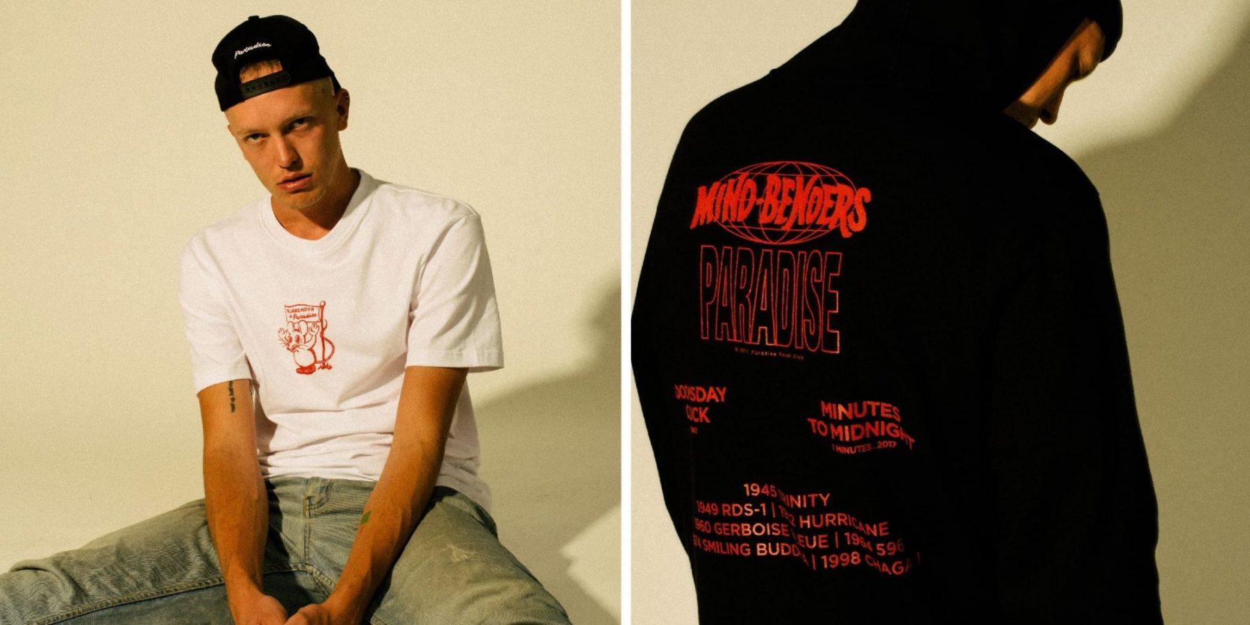 """paradise youth club mind benders 01 - Paradise Youth Club """"Mind Benders"""""""