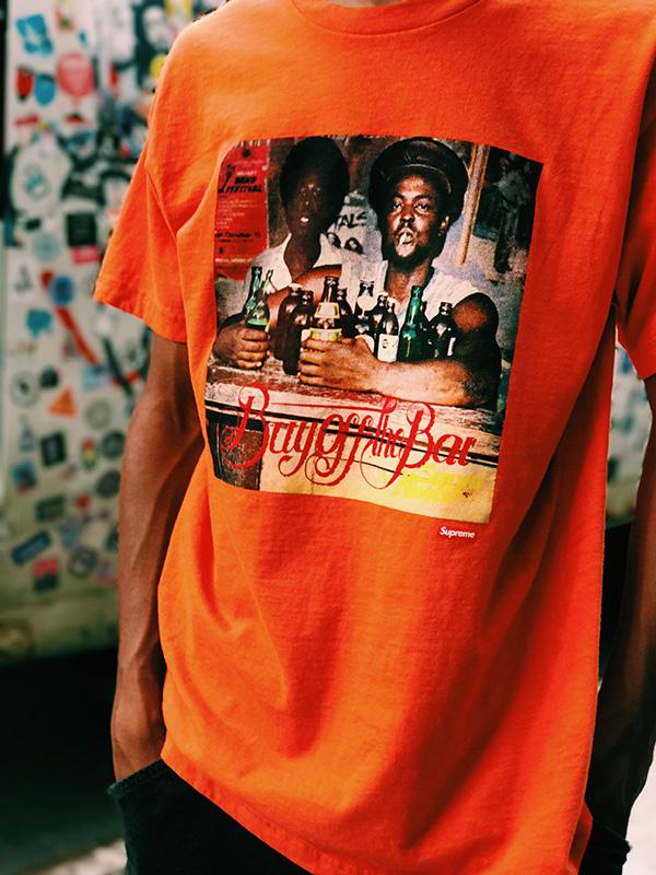 supreme camisetas verao 2017 01 - Supreme colabora com ilustrador Wilfred Limonious