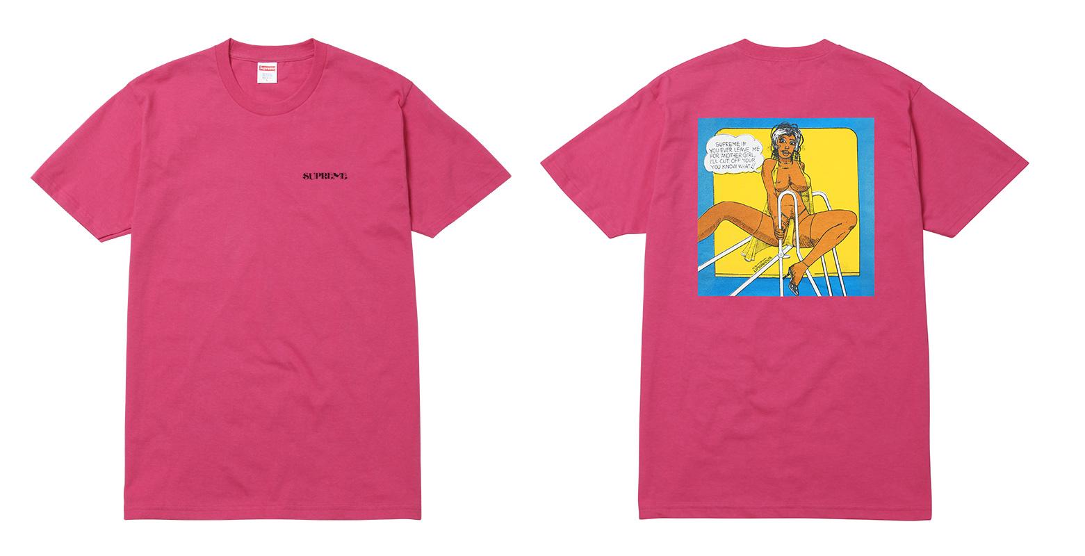 supreme camisetas verao 2017 04 - Supreme colabora com ilustrador Wilfred Limonious