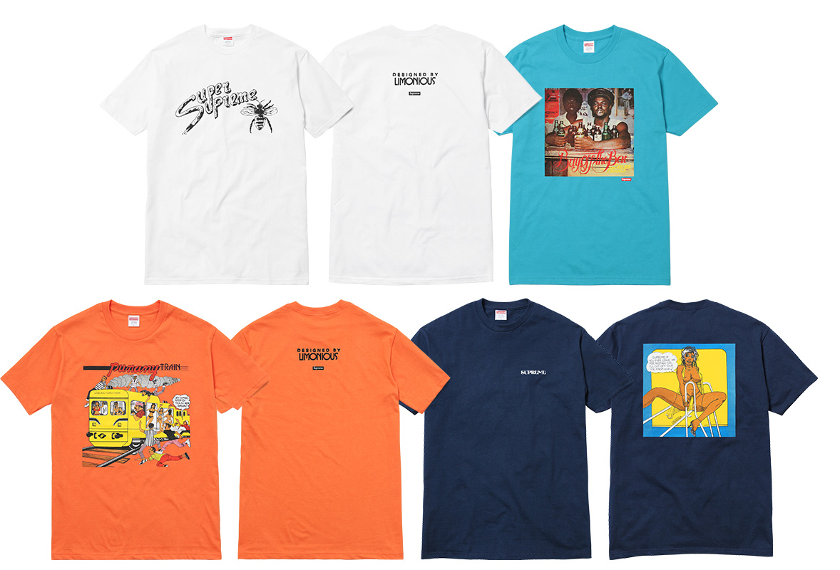supreme camisetas verao 2017 07 - Supreme colabora com ilustrador Wilfred Limonious