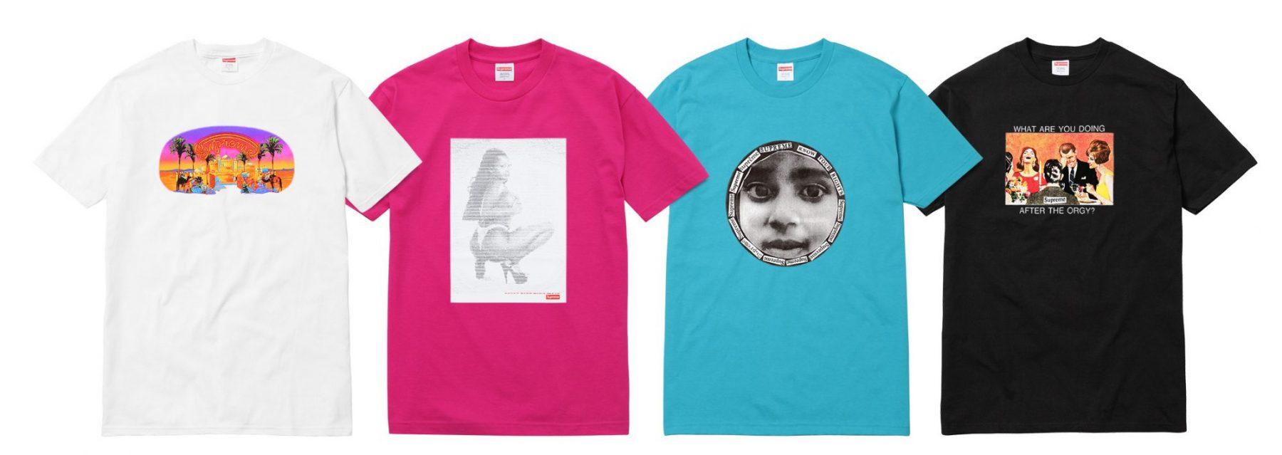 supreme camisetas verao 2017 08 - Supreme colabora com ilustrador Wilfred Limonious