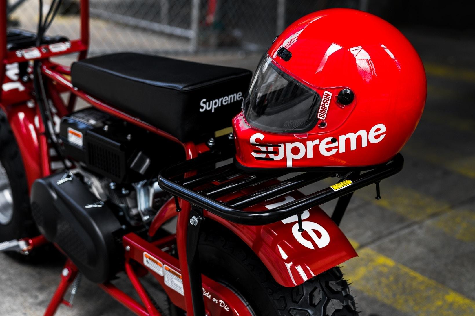 supreme coleman ct200u minibike 04 - Supreme lança oficialmente minimoto com a Coleman