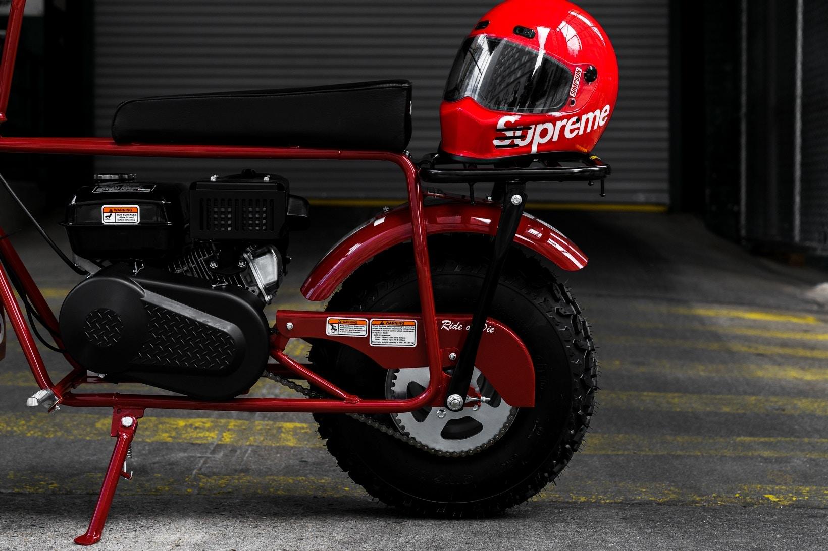 supreme coleman ct200u minibike 06 - Supreme lança oficialmente minimoto com a Coleman