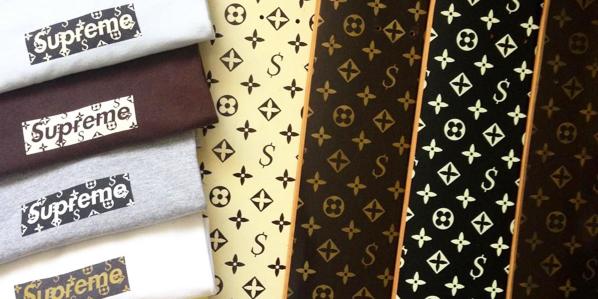 supreme louis vuitton 2000 - Shapes da Supreme com a Louis Vuitton são vendidos por $30,0000
