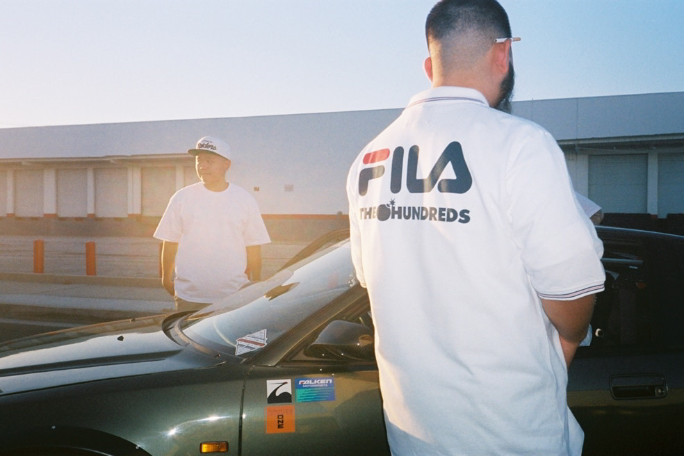 The Hundreds e FILA colaboram em parceria inédita