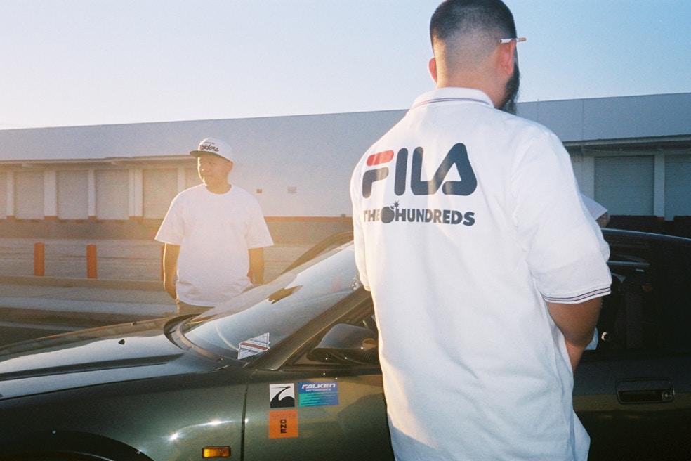 The Hundreds e FILA colaboram em parceria inédita