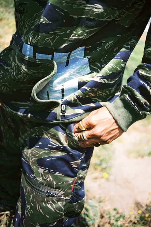 "undefeated goodenough tiger camo colab 3 - UNDEFEATED x GOODENOUGH ""Tiger Camo"""