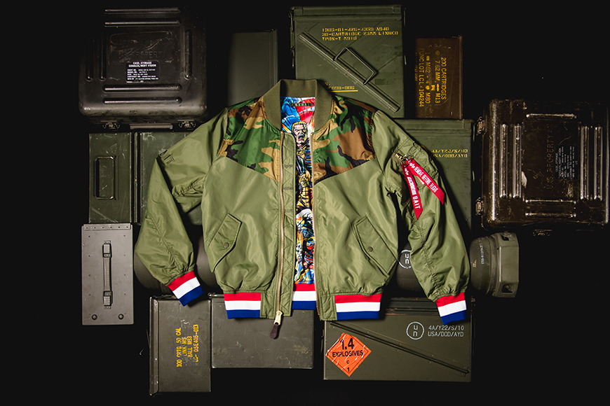 Alpha Industries lança jaqueta inspirada no boneco G.I. Joe