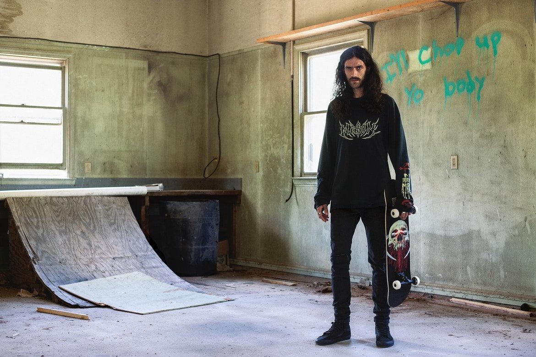mason colecao resurrection 13 - O skate-metal da MASON