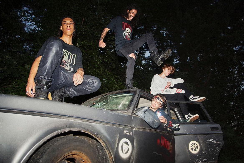 mason colecao resurrection 19 - O skate-metal da MASON