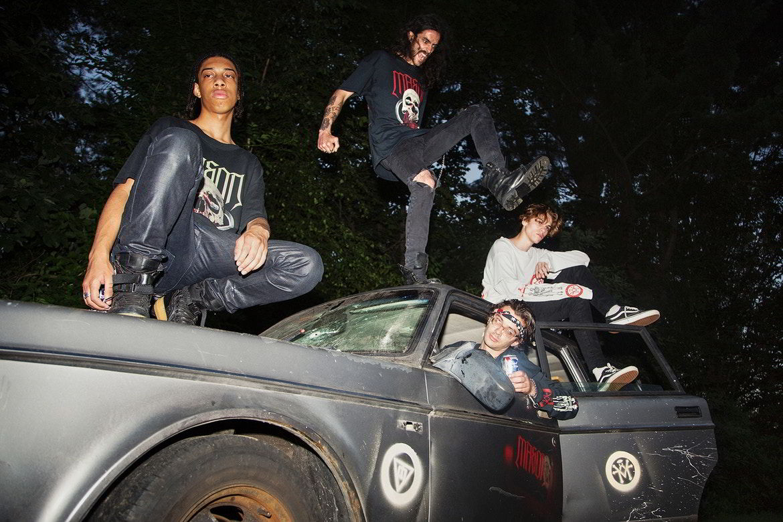 O skate-metal da MASON