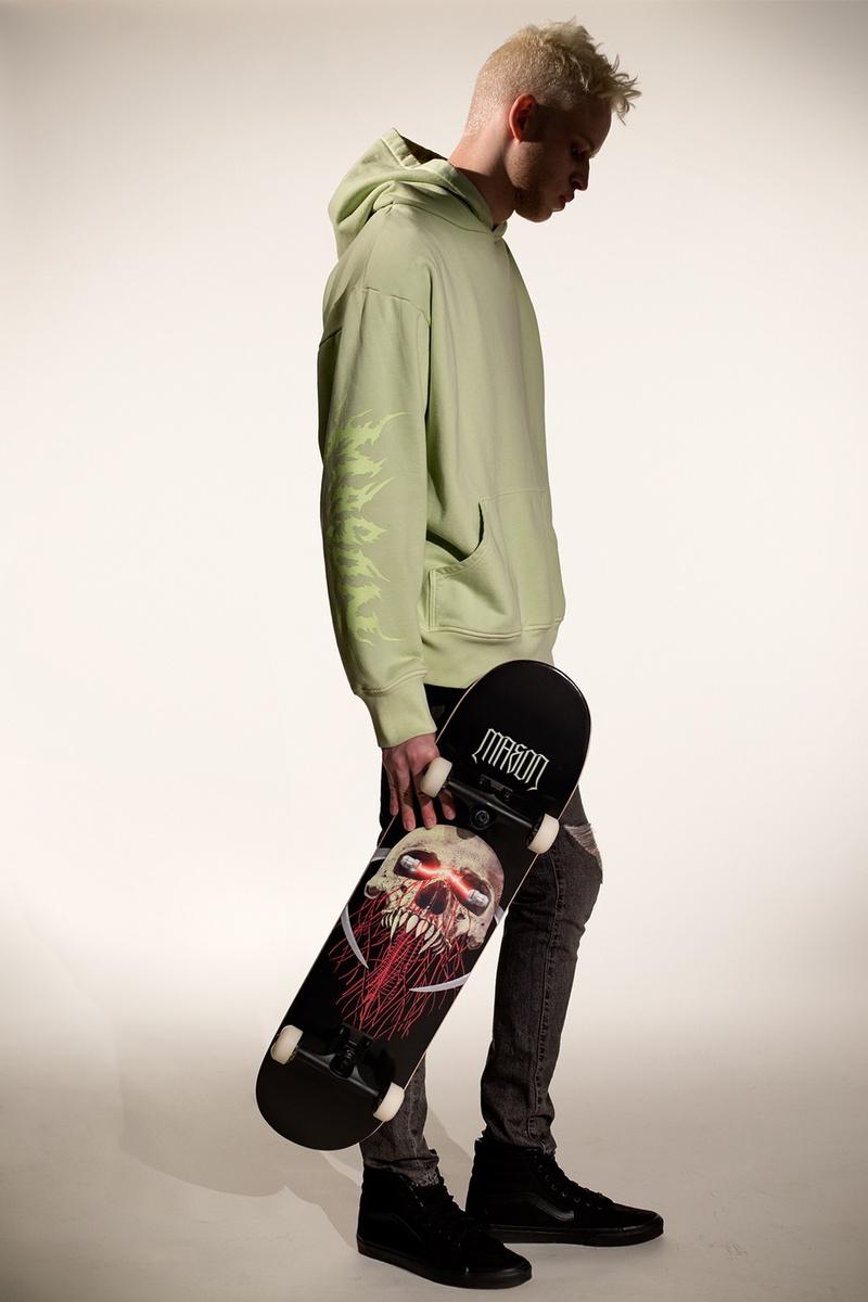 mason colecao resurrection lookbook 03 - O skate-metal da MASON