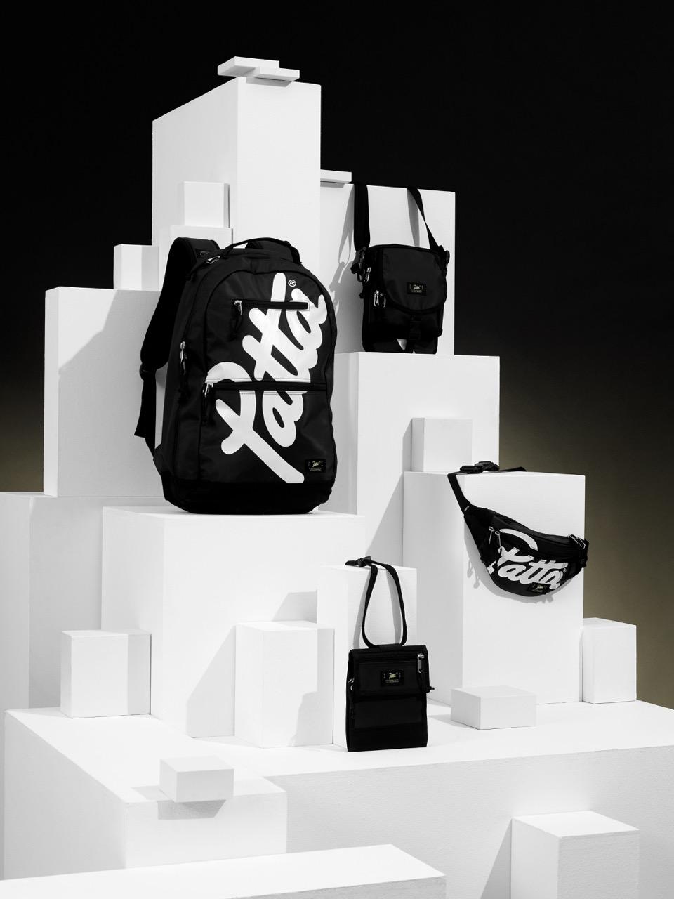 Patta lança linha de mochila e bolsas