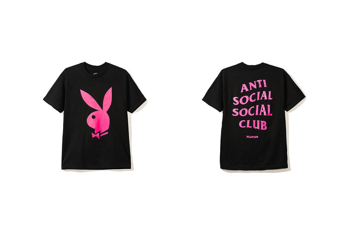 Anti Social Social Club x Playboy (Coleção cápsula)