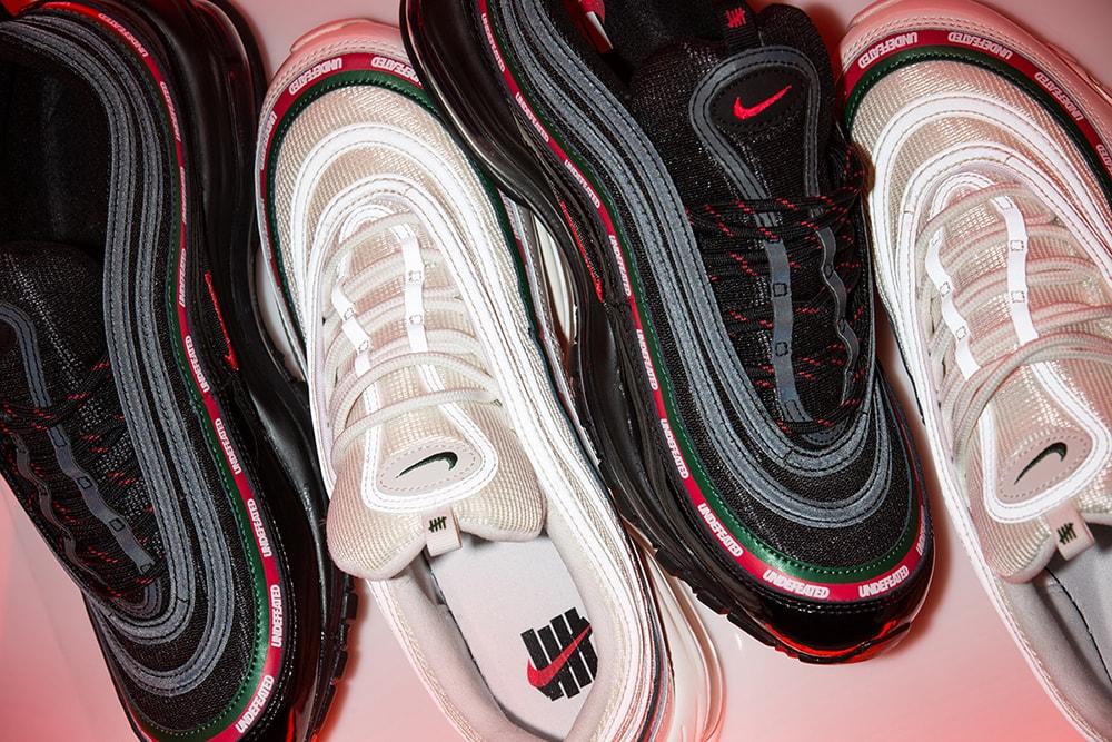 Parceria entre Undefeated e Nike traz Air Max 97 e vestuário