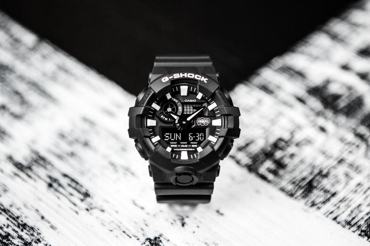 Grafiteiro Eric Haze assina relógio da G-Shock