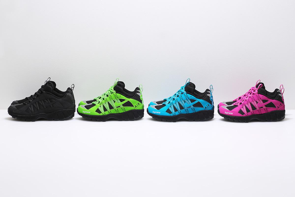 Supreme resgata o Air Humara em cápsula com a Nike