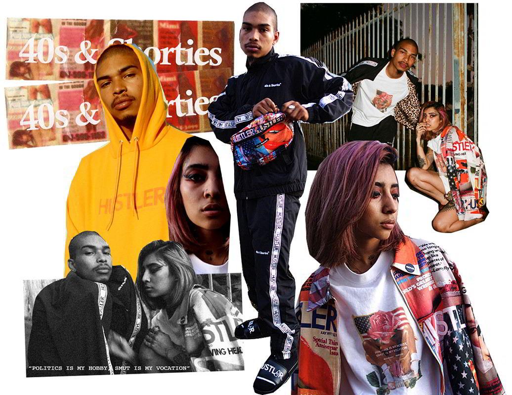 40s & Shorties colabora com a polêmica revista Hustler