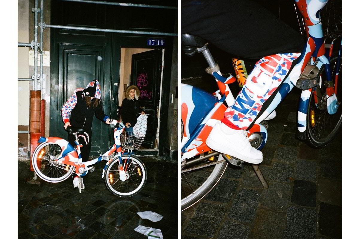 bape paris colecao capsula 01 - BAPE celebra inauguração de loja em Paris com coleção cápsula