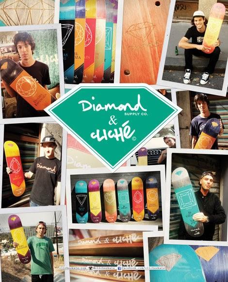 Diamond e Cliché lançam shapes em parceria